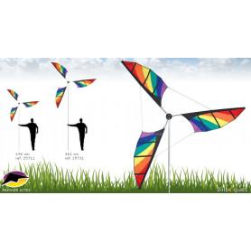 Éolienne géante 198cm rainbow