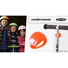 Lumière Orange - Accessoire pour trottinette Micro